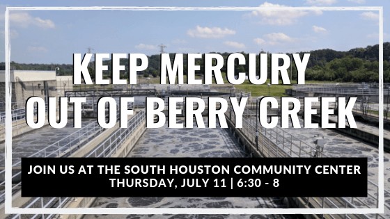 Sign the Petition! Keep Mercury Out of Berry Creek