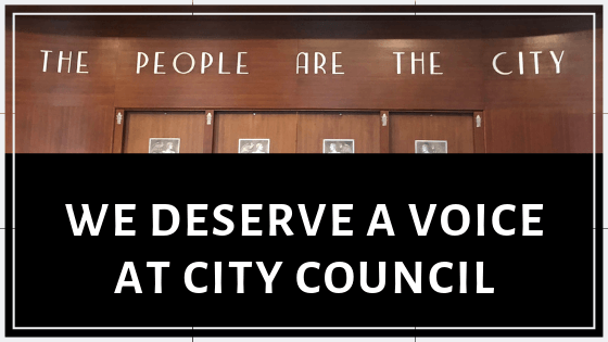 ACTION: The Public Deserves a Voice at City Council