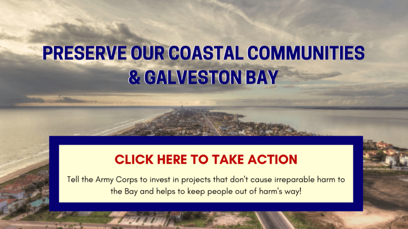 Take Action on the Army Corps' Coastal Barrier!