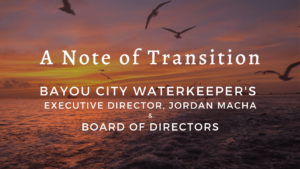 Announcement: Executive Transition