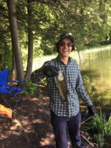 A law student from Vermont fishes the Lower Galveston Bay watershed